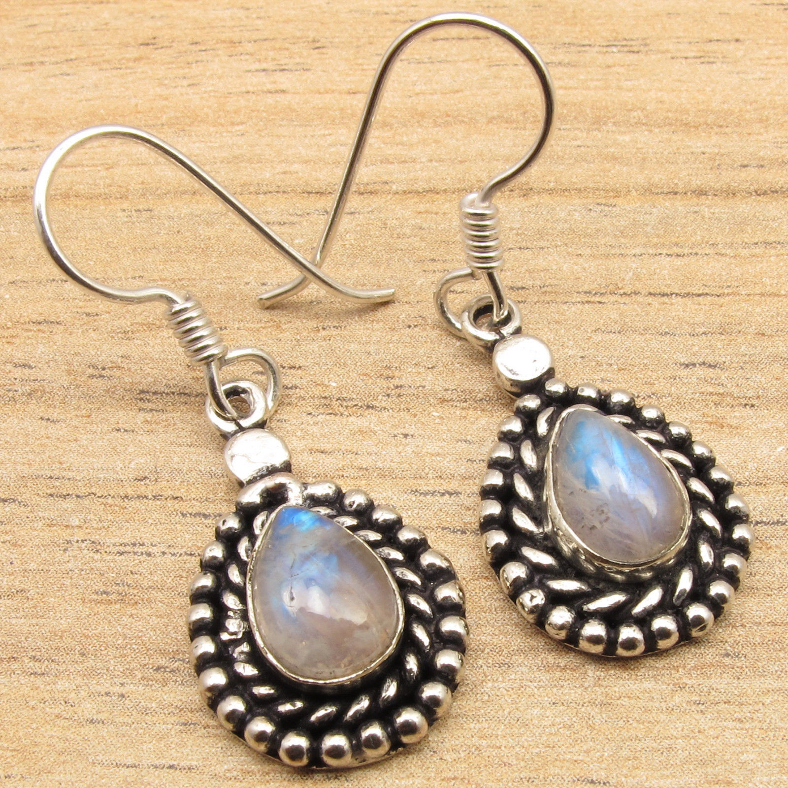 Silver Plated Unseen Rainbow Moonstone Gemset Unusual Ethnic Drop Earrings In From Jewelry Accessories On Aliexpress Alibaba Group
