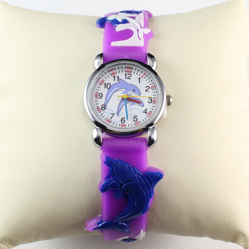 New Fashion Kids Watch Finding Nemo 3D Lovely Cartoon Watch For Childrens Gift (50 Pieces)