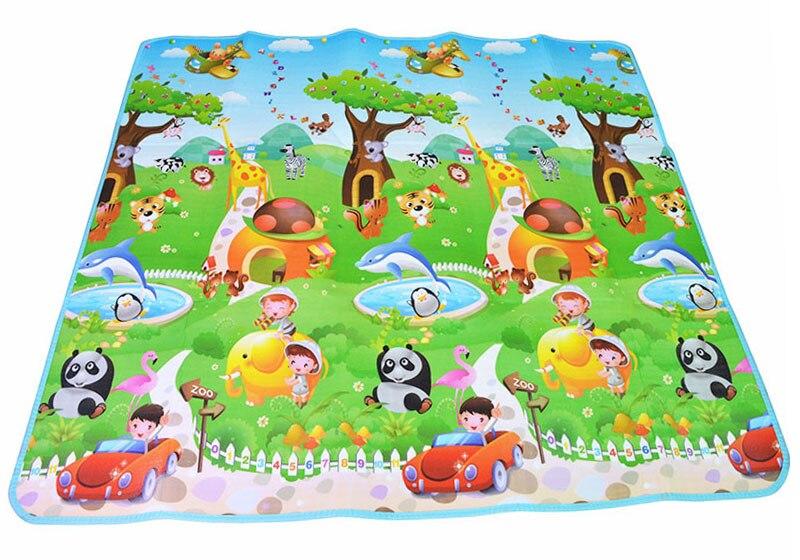 HTB1qhIga8OD3KVjSZFFq6An9pXa7 Double Side Baby Play Mat 0.5cm Eva Foam Developing Mat for Children's Rug Carpet Kids Toys Gym Game Crawling Gym Playmat Gift
