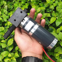 Linear reciprocating motor 48W 12CM/S DC12V rack motor Planetary gear motor Push rod speed motor