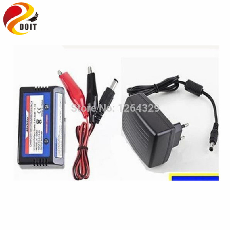 7.4V/11.1 V Lithium Battery Balance Charger 2s,3s for Tank Car Chassis,Robot Arm,Bio-robot/ Charger for DIY Parts ebike battery 48v 15ah lithium ion battery pack 48v for samsung 30b cells built in 15a bms with 2a charger free shipping duty