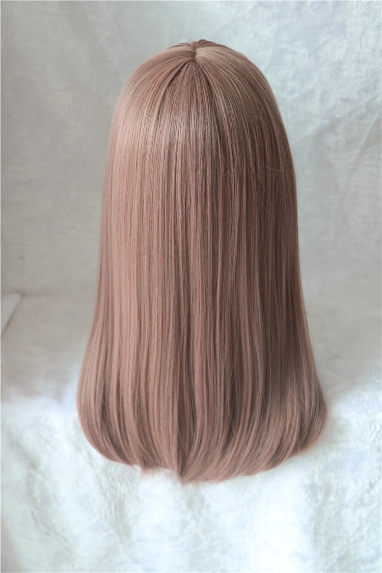 Image 2 - Movie A Silent Voice Nishimiya Shouko Cosplay Wig The Shape of Voice Koe no Katachi Straight Facial Hair-in Anime Costumes from Novelty & Special Use