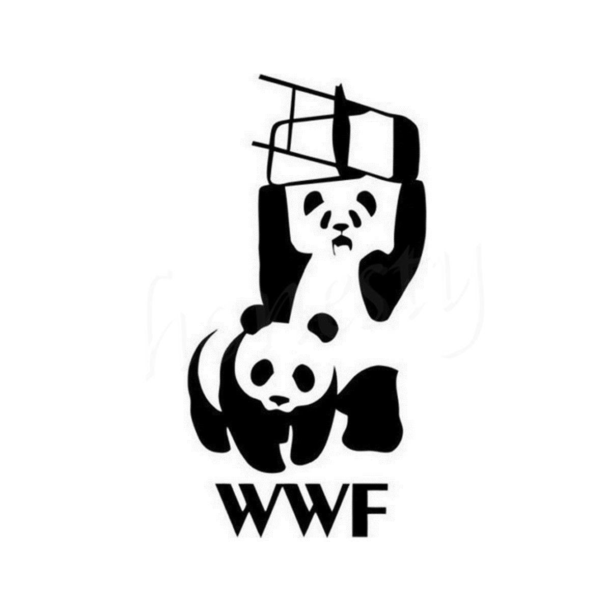 Compra Wwf Panda Etiqueta Online Al Por Mayor De China