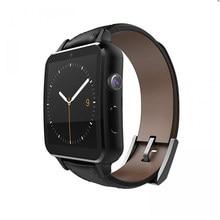 FineFunสมาร์ทนาฬิกาA8บลูทูธHeart Rate R Eloj InteligenteสายหนังNFCกล้องพื้นผิวโค้งสำหรับA Ndroid iOSมาร์ทโฟน
