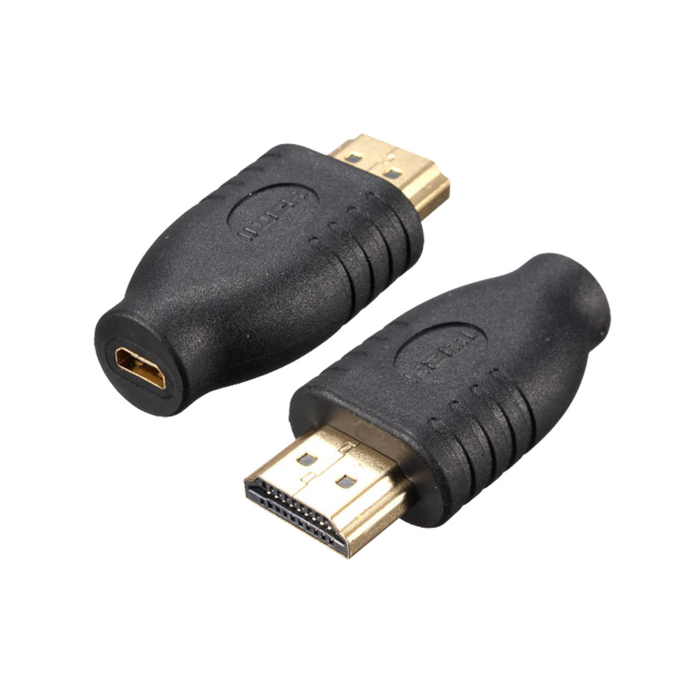 High Recommend Standard HDMI Male Type A To Micro HDMI Type D Female Socket Adapter Converter Usb Charger Usb Adapter