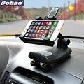 Apoio voiture telefone para iphone 7 7 s plus 6 6 s plus 5.5 polegada-7 polegada smartphone stands