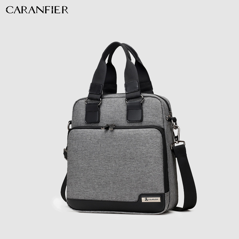 CARANFIER Men Handbags Shoulder Bags Casual Crossbody Handbags High Quality Oxford Travel Bags New Business Men's Messenger Bags