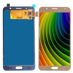 Image 5 - Für Samsung Galaxy J7 2016 Display J710 LCD Display Und Touch Screen Digitizer Montage SM J710f Einstellbar Mit Klebstoff Werkzeuge
