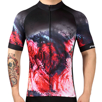 2017 LKPRBD Bicycle Mtb Speckle Cycling Jersey Only Short Sleeve Cycling Clothing Ropa Ciclismo Invierno Bike