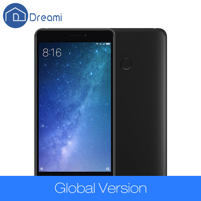 Dreami Original Global Version Xiaomi Mi Max 2 4GB 64GB Max2 Mobile Phone 5300mAh Battery Octa Core 6.44″ 1920×1080 625 12MP