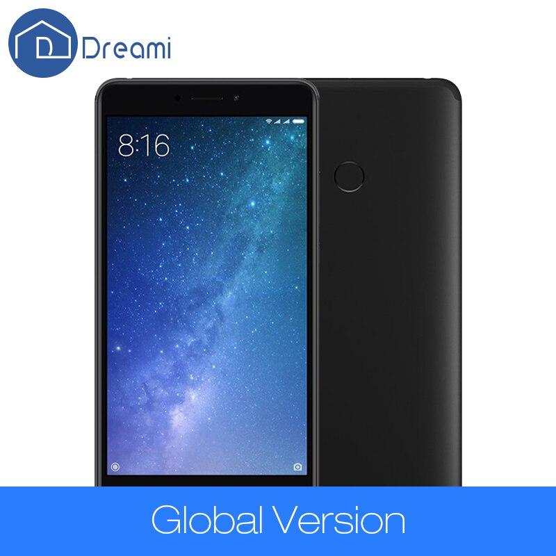 Dreami Original Global Version Xiaomi Mi Max 2 4GB 64GB Max2 Mobile Phone 5300mAh Battery Octa Core 6.44 1920x1080 625 12MP