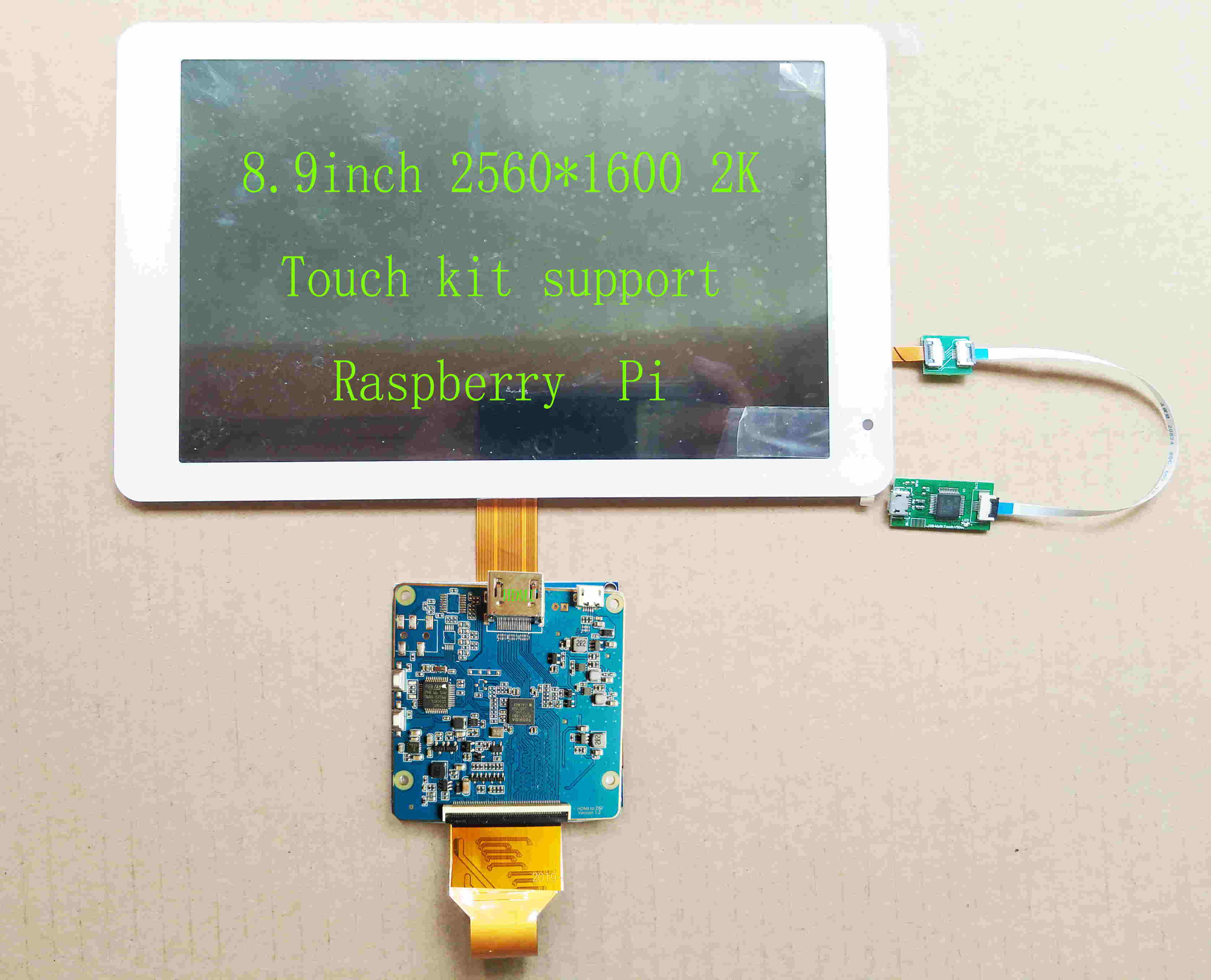 HOT SALE] 7 Inche 1024*600 IPS Screen Display LCD TFT Monitor