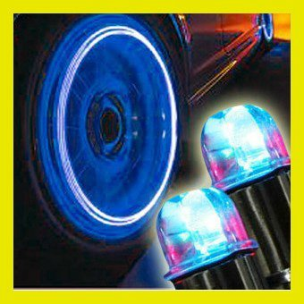 Wholesale - 10Pcs/Lot New Cool Car Decoration Drl Daytime Running Light Car/Bicycle Led Drl Wheel light