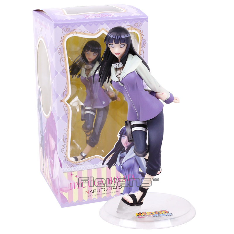 Naruto Shippuden Hyuuga Hinata Naruto Gals PVC Action Figure Collectible Model Toy hot anime naruto 4th hokage namikaze 6 action figure collectible pvc model gift toy