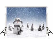 Personnalisé De Noël neige photo fond Chaud Famille Fond Fotografia Enfants Photographie Décors