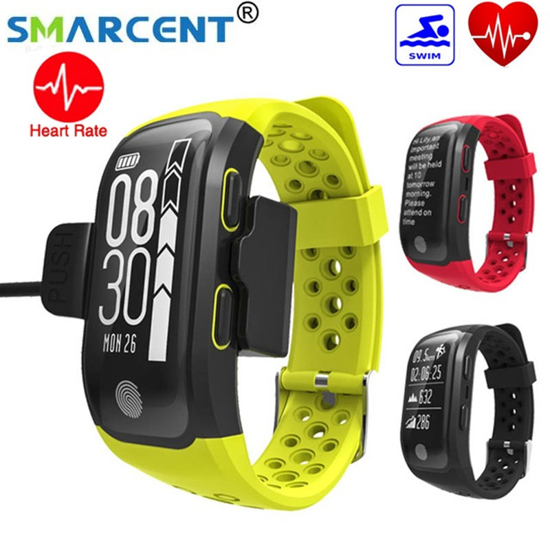 2017 NEW G03 Smart Band GPS Smartwatch With Heart Rate IP68 Waterproof Fitness Tracker Smart Bracelet For Android IOS S908 fs08 gps smart watch mtk2503 ip68 waterproof bluetooth 4 0 heart rate fitness tracker multi mode sports monitoring smartwatch