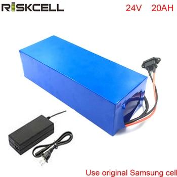 Ebike-Batería de patinete eléctrico, 24v, 20Ah, akku