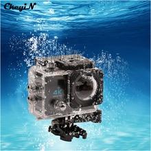 Câmera ação 1080 p 16mp câmera 4 k 170 wide-angle cam à prova d' água câmera de esportes ao ar livre cartão micro sd de até 64 gb dvr55-pj