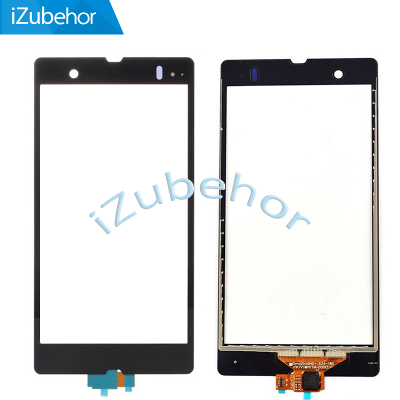 100% Warranty Digitizer Panel Touch <font><b>Screen</b></font> For <font><b>Sony</b></font> <font><b>Xperia</b></font> <font><b>Z</b></font> C6602 L36H <font><b>C6603</b></font> Touchscreen Sensor Front <font><b>Glass</b></font> Replacement image