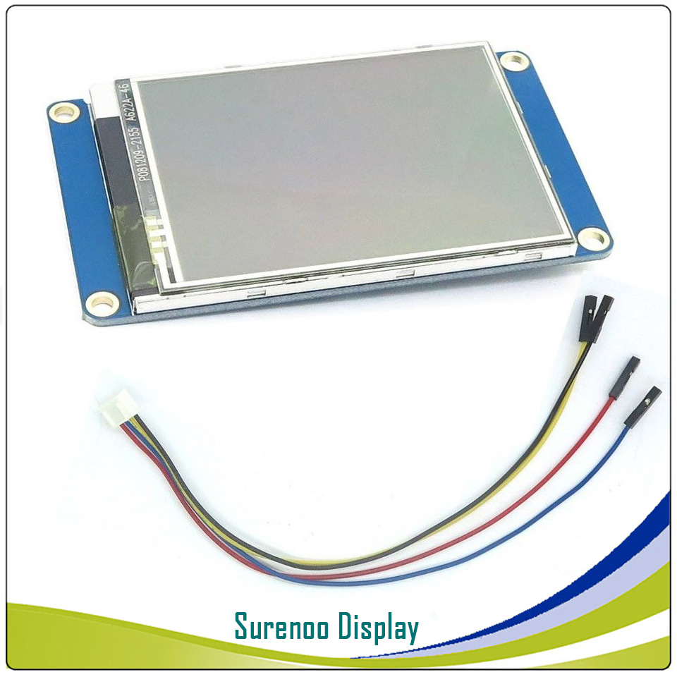 """Image 4 - 2.4"""" NX3224T024 Nextion Basic HMI Smart USART UART Serial Resistive Touch TFT LCD Module Display Panel for Arduino RaspBerry Pi-in LCD Modules from Electronic Components & Supplies"""