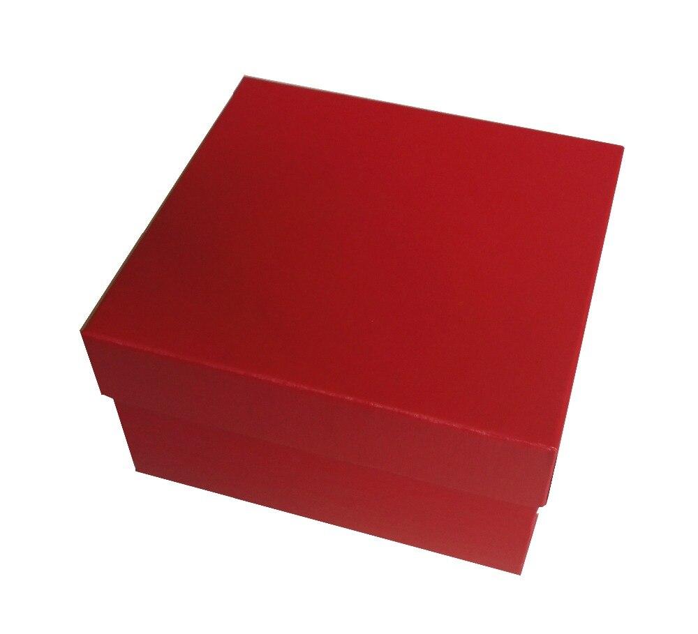 Boîte de montre en laque brillante à rayures en bois et étuis boîte de Promotion personnalisée bijoux cadeau boîtes d'affaires LOGO personnalisé livraison directe WB1011 - 6