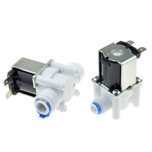 Electric Plastic Solenoid Valve 12V 24V 220V Normal Close 1/4