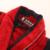 Algodón albornoz de los hombres de lana hombres robe más el tamaño largo suave cálido invierno de las mujeres albornoz camisón camisón ladies home hotel rojo