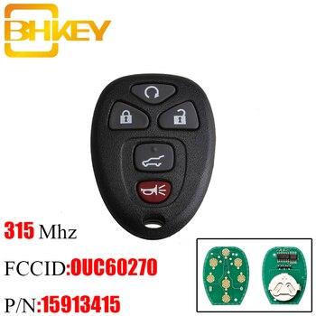 BHKEY 5Buttons Remote key For GMC Acadia Savana Sierra Yukon XL 1500 2007 2008 2009 2010 2011 2012 2013 2014 For OUC 159134155 for 2001 2002 gmc yukon xl 1500 yukon xl 2500 6 0l 8 1l oxygen sensor gl 24103 234 4103 12563345 12563346