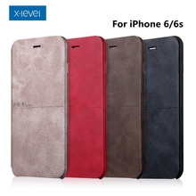Luxury X-Level Extreme Series High-quality Retro Classic Leather Case For iPhone 7 7 Plus 6s 6s Plus