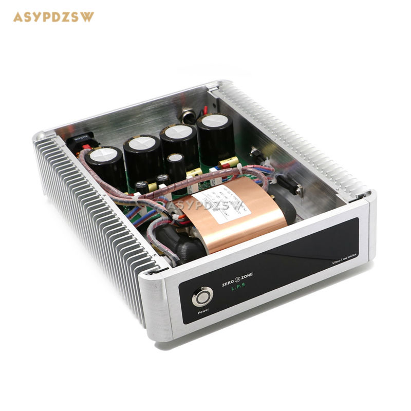 New mirror style 100VA R-core Ultra Low Noise Linear Power supply 100W PSU DC 5V---30V Optional