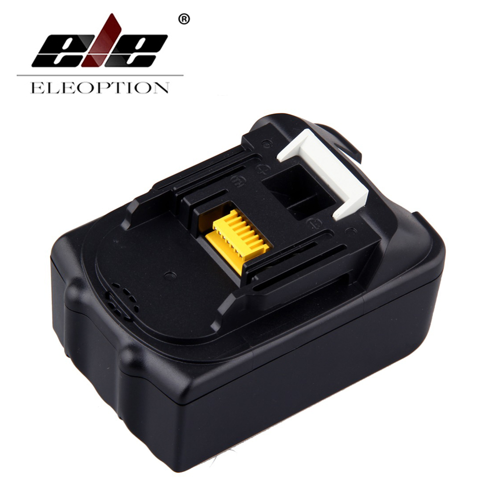 18V 4500mAh High Capacity Rechargeable Li-ion Replacement Power Tool Battery for Makita 18V BL1830 BL1840 LXT400 BL1815 194230-4 eleoption 18v 2000mah li ion 2 pcs replacement power tool battery for makita 194205 3 194309 1 bl1815 7 2v 18v charger