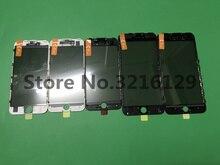 10 pièces avant presse à froid verre extérieur avec cadre moyen lunette assemblé + OCA film lumière polarisée pour iPhone 6 6s plus 7 7plus 8g 8p