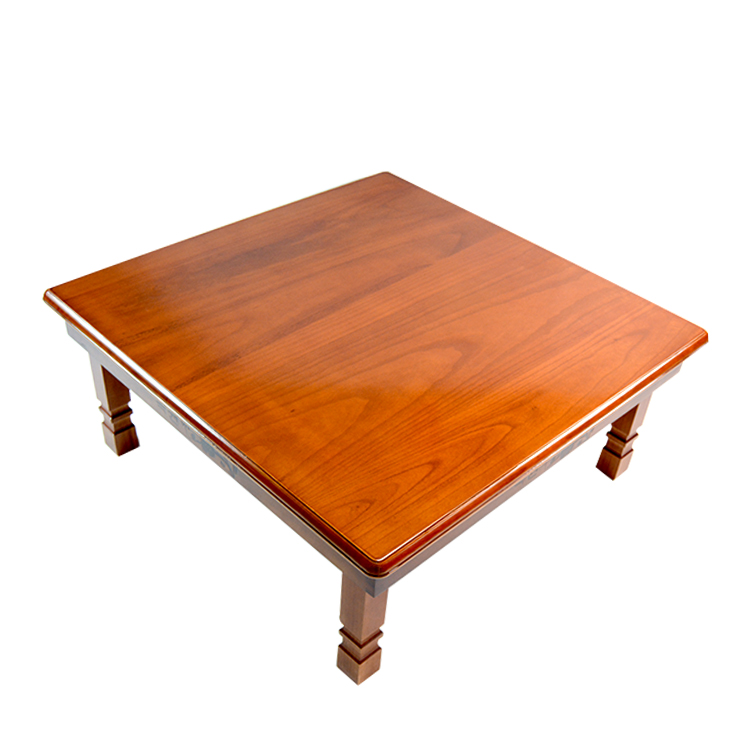 Us 169 0 Solid Pine Wood Folding Table Square 80cm 2 Finish Natural Brown Living Room Furniture Large Low Coffee Wooden In