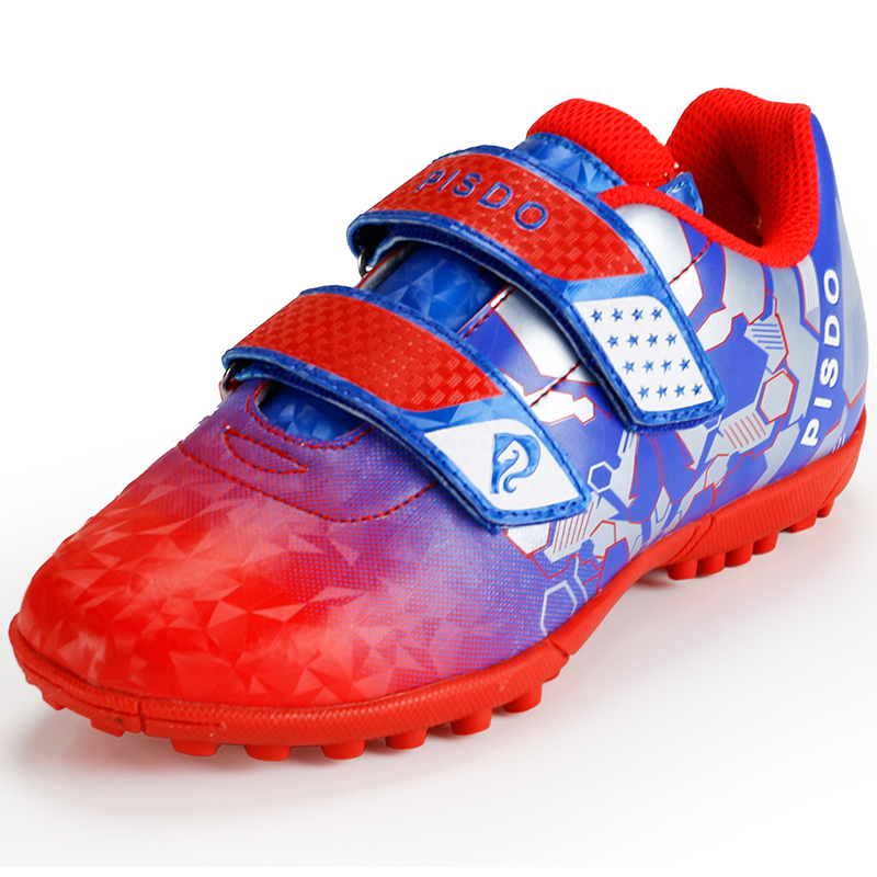 New Non-slip Boys Kids Sneakers Cleats Turf Children Soccer
