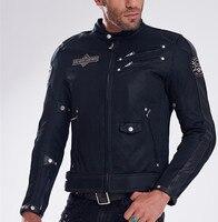 2018 New uglyBROS leather breathable mesh jacket racing motorcycle riding men Jacket Jacket moto