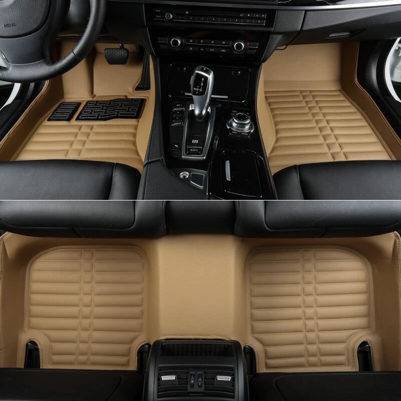 no odor full surrounded special car floor mats for Audia4 allroad quattro B8 wear-resist ...