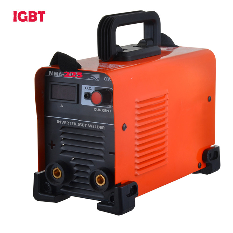 Powerful Quality IGBT Inverter  Electric High  Welding Machines, DC MMA-225 MMA ARC Stick Welder Welding Machine portable arc welder household inverter high quality mini electric welding machine 200 amp 220v for household