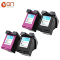 GN 4PK 122XL Refilled Ink Cartridge Replacement for HP 122 for Deskjet 1000 1050 2000 2050s 3000 3050A 3052A 3054 1010 1510 2540