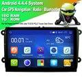 9 pulgadas Android 4.4.4 Sistema de Radio de Coche Doble 2 Din Navegación GPS Reproductor Multimedia del coche Para VW Passat Golf Jetta MK5 MK6 EOS POLO