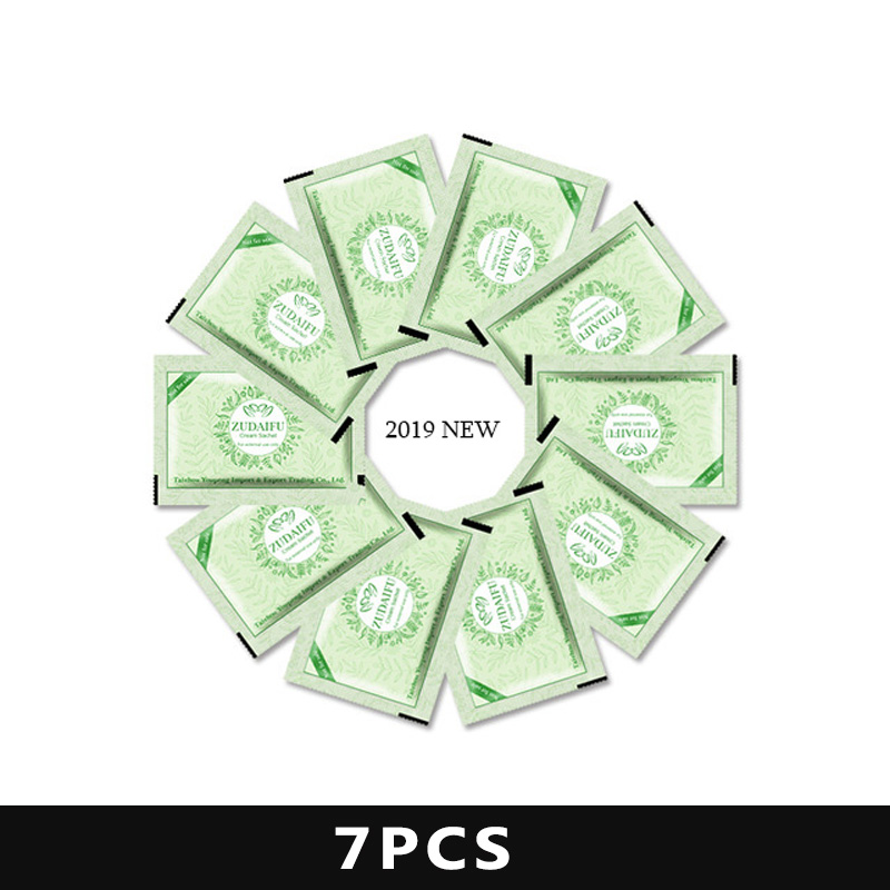 7pcs/lot Original ZUDAIFU Psoriasis Dermatitis Eczema Pruritus Skin Problems Cream Pouch Same Effect As Tube