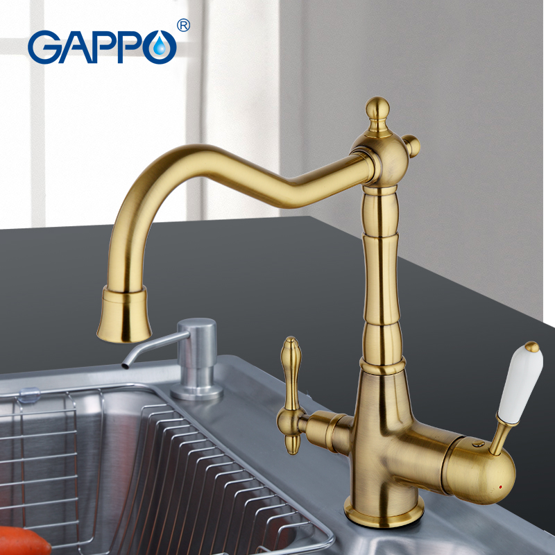 Hot Sale Gappo Brass Filter Water Taps Kitchen Mixer Water Faucet