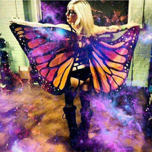 Butterfly Wing Cape Bikini Cover Up