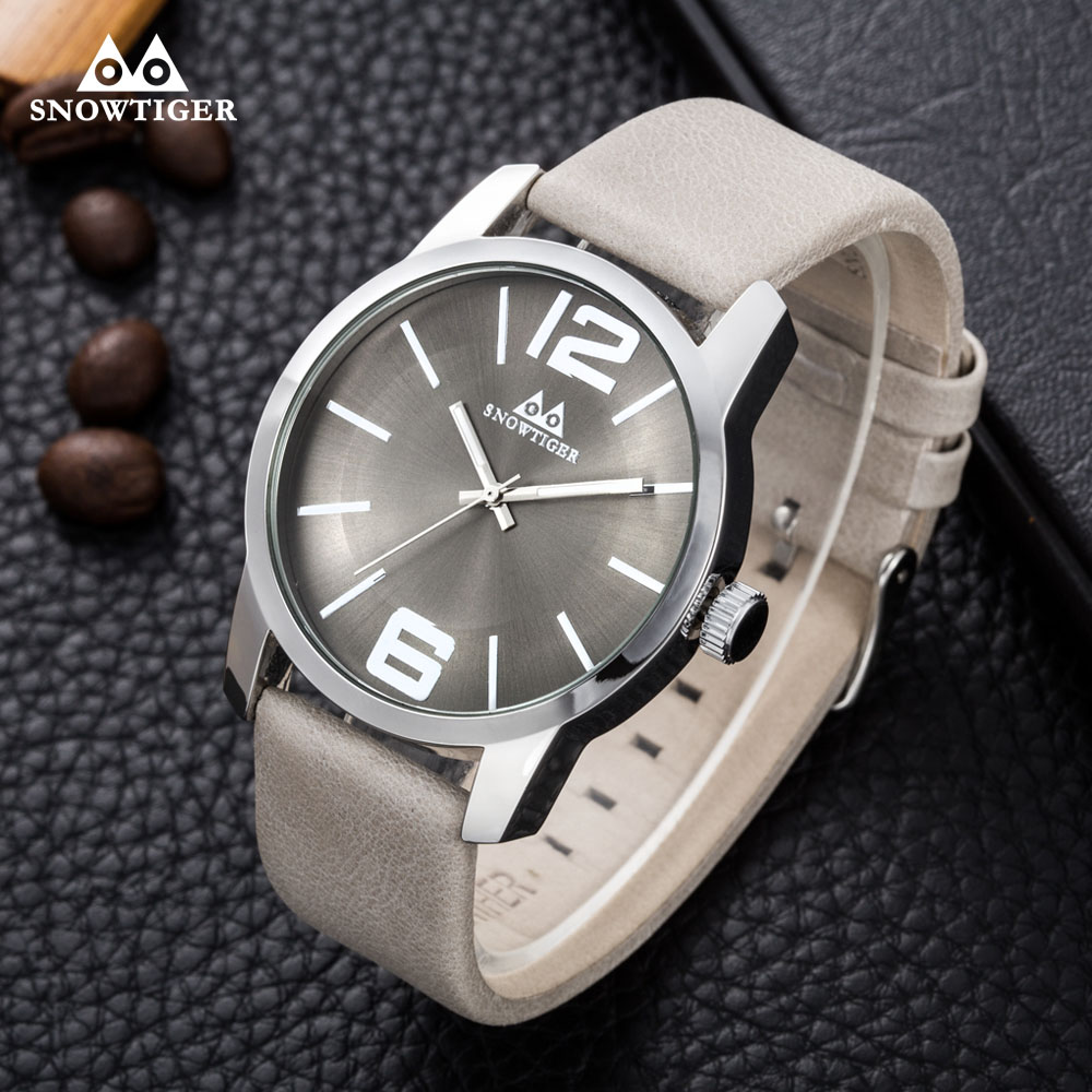 6c5fadecf 2019 جديد أزياء و عارضة الرجال الساعات رائعة الأرقام العربية 2035 Movt  الصبي الكوارتز التناظرية ساعة اليد Relojes الذكور أفضل الهدايا