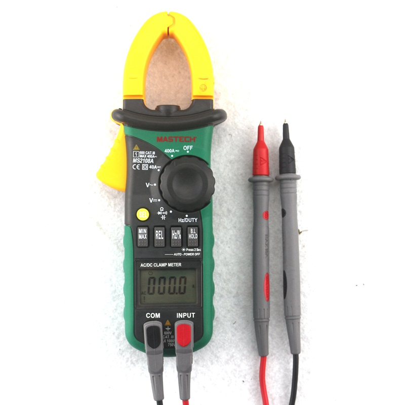 Mastech MS2108A Digital AC DC Clamp Meter Multimeter Voltmeter Ammeter Capacitance Resistance Frequency Meter with 2.7V Diode контейнер изотермический cw cg plus extreme 25l