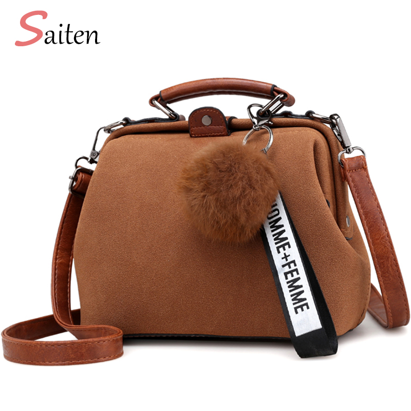 The New Women Bags Fashion PU Leather Women Handbags Suede Leather Top-Handle Bag Business Doctor Hasp Bags Girl Messenger bags new hot european style women crocodile pattern doctor women backpack 2017 famous hasp belt bags women s pu leather rucksack bag