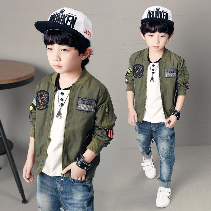 Children Jacket For Boys Coat Kids Clothes Spring Autumn 2021 Fashion Children's Winter Jackets Boy Clothing Casual Outerwear 6