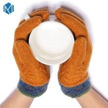 ec4ba4e1646d4 M L'MISME Cachemire Chaud D'hiver Enfants Gants Extensible Solide Unisexe  nouvelle mode Confortable Enfants de Mitaines Handscho.