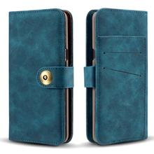 Removable Leather Cover for Iphone X XR XS MAX 8 7 6S Plus 5S Samsung Galaxy Note 9 8 S9 S8 Plus S7 Edge Card Wallet Flip Cases(China)