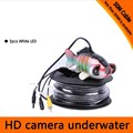 50Meters Depth  Fish Like Underwater Camera with 2PCS 2 walt white LEDS for Fish Finder & Diving  Camera