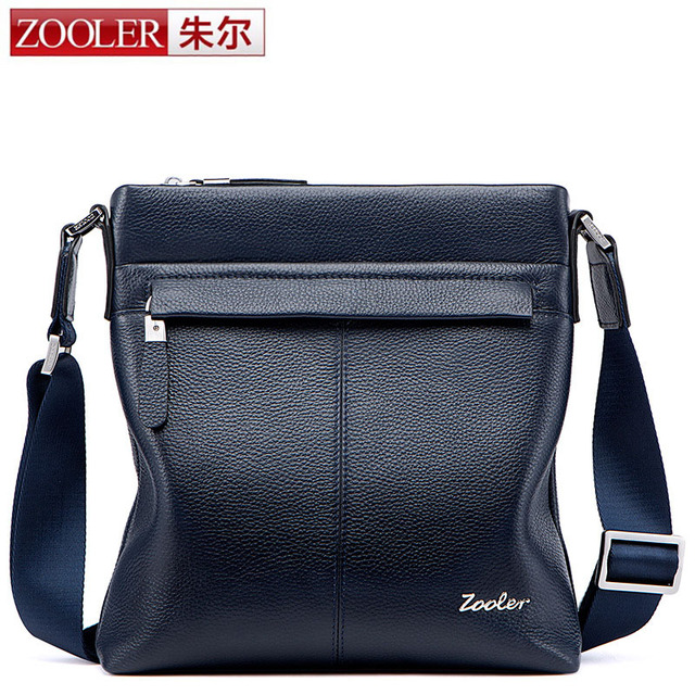 f7fa9a1ce5 ZOOLER Brand Genuine Leather Men Bag Male Casual Business Messenger Bags  Men s Small Briefcase Vintage Crossbody